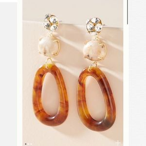 Anthropologie Audrey Drop Earrings